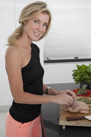 Michelle Globis, founder of Palm Springs Plan and private chef in Palm Springs, CA.