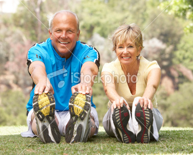 stock-photo-12067655-senior-couple-exercising-in-park