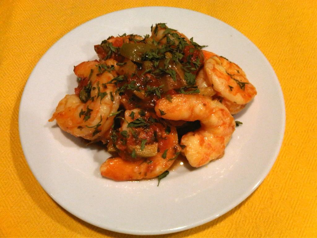 Paleo Shrimp Puttanesca