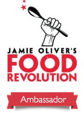 Jamie Oliver Food Revolution Ambassador