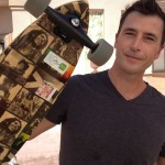 Palm Springs Food Revolution skateboarder