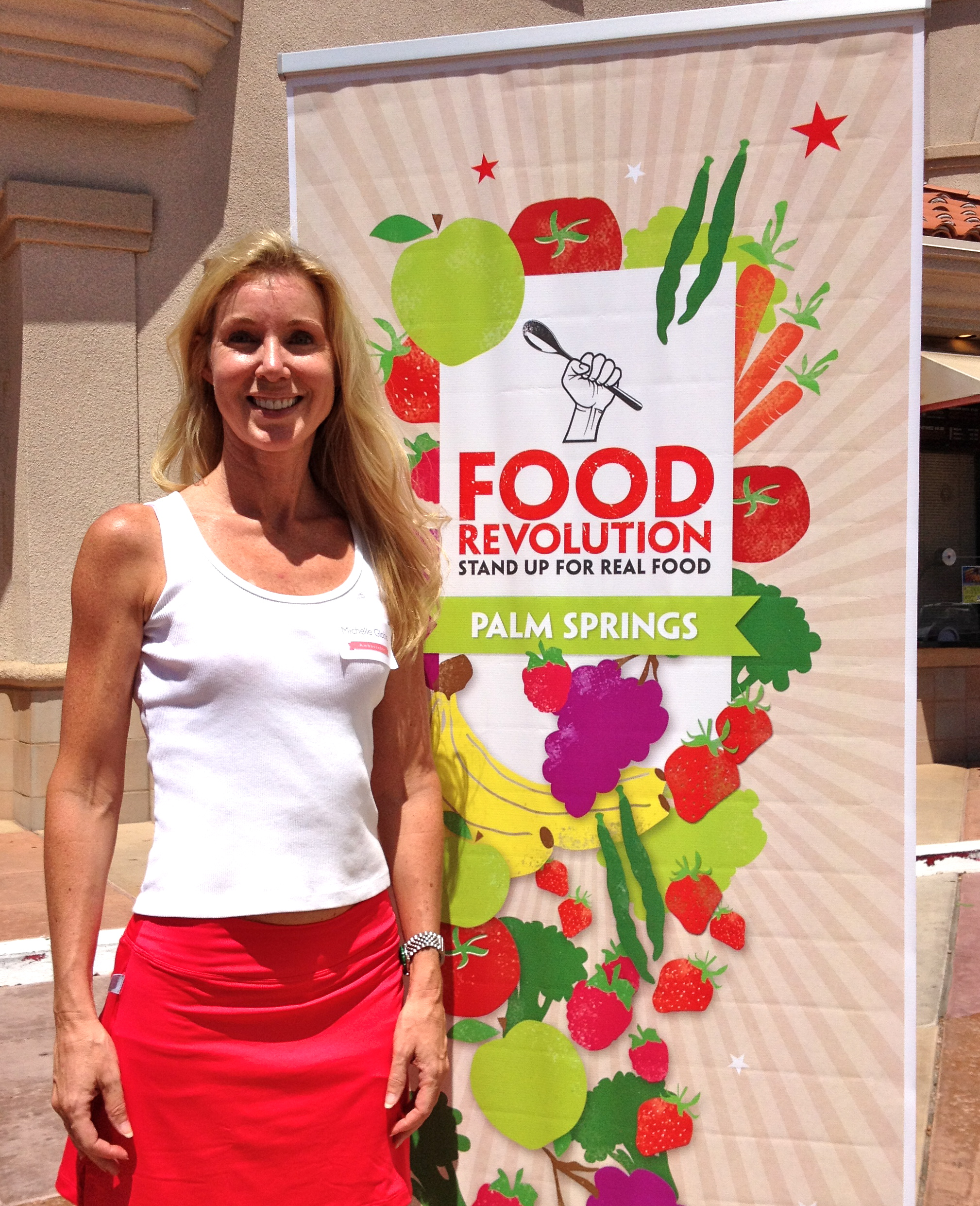 Michelle Globis Food Revolution Ambassador