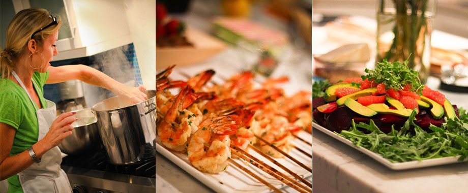 Michelle Globis, private chef in Palm Springs, CA